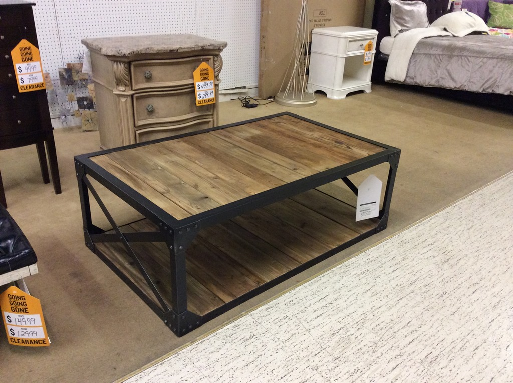 Coffee Table Makeover Industrial Beneath My Heart