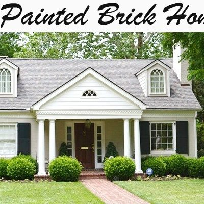 Painted Brick Houses Archives - Beneath My Heart