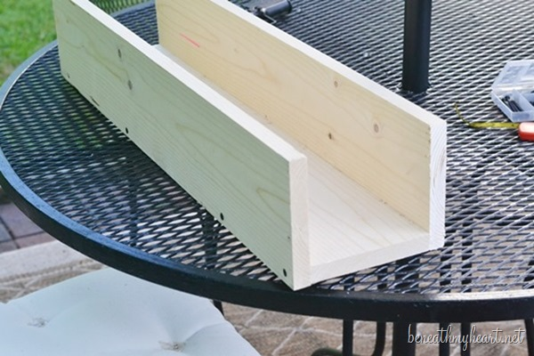 diy wood planter box