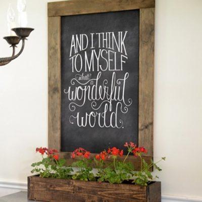 DIY Wood Planter Box {BLACK+DECKER Giveaway!}