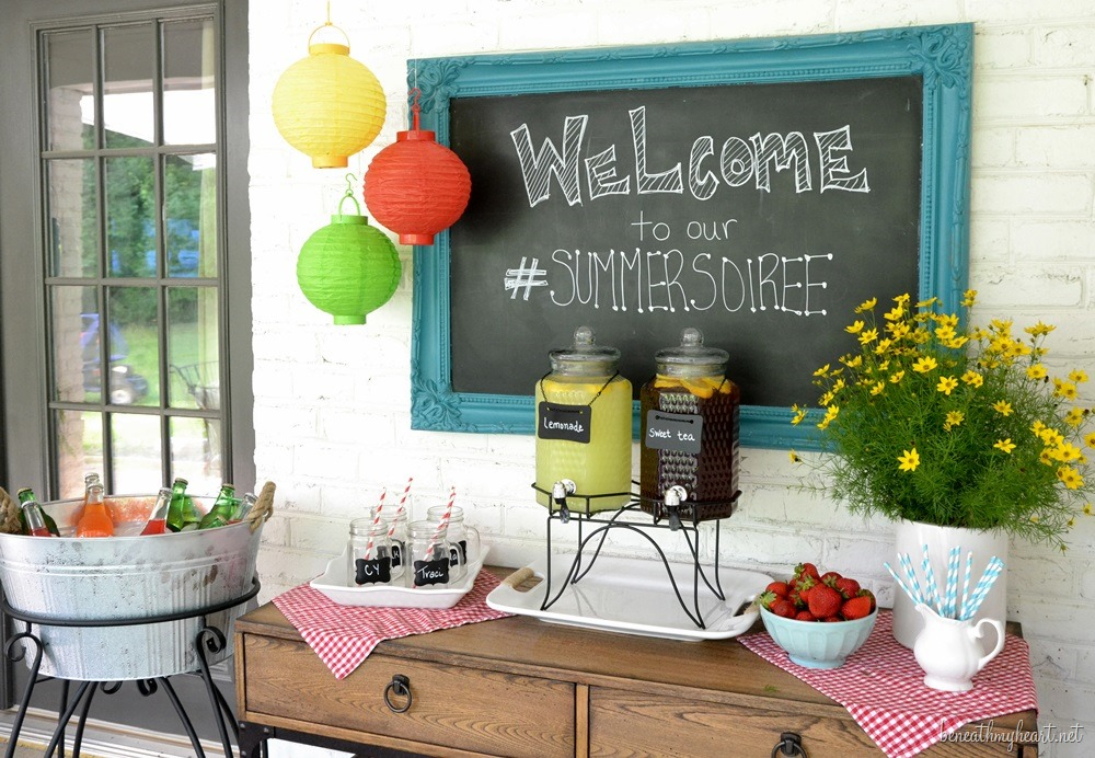 Summer Entertaining Tips {& Kirklands' $250 Giveaway!}