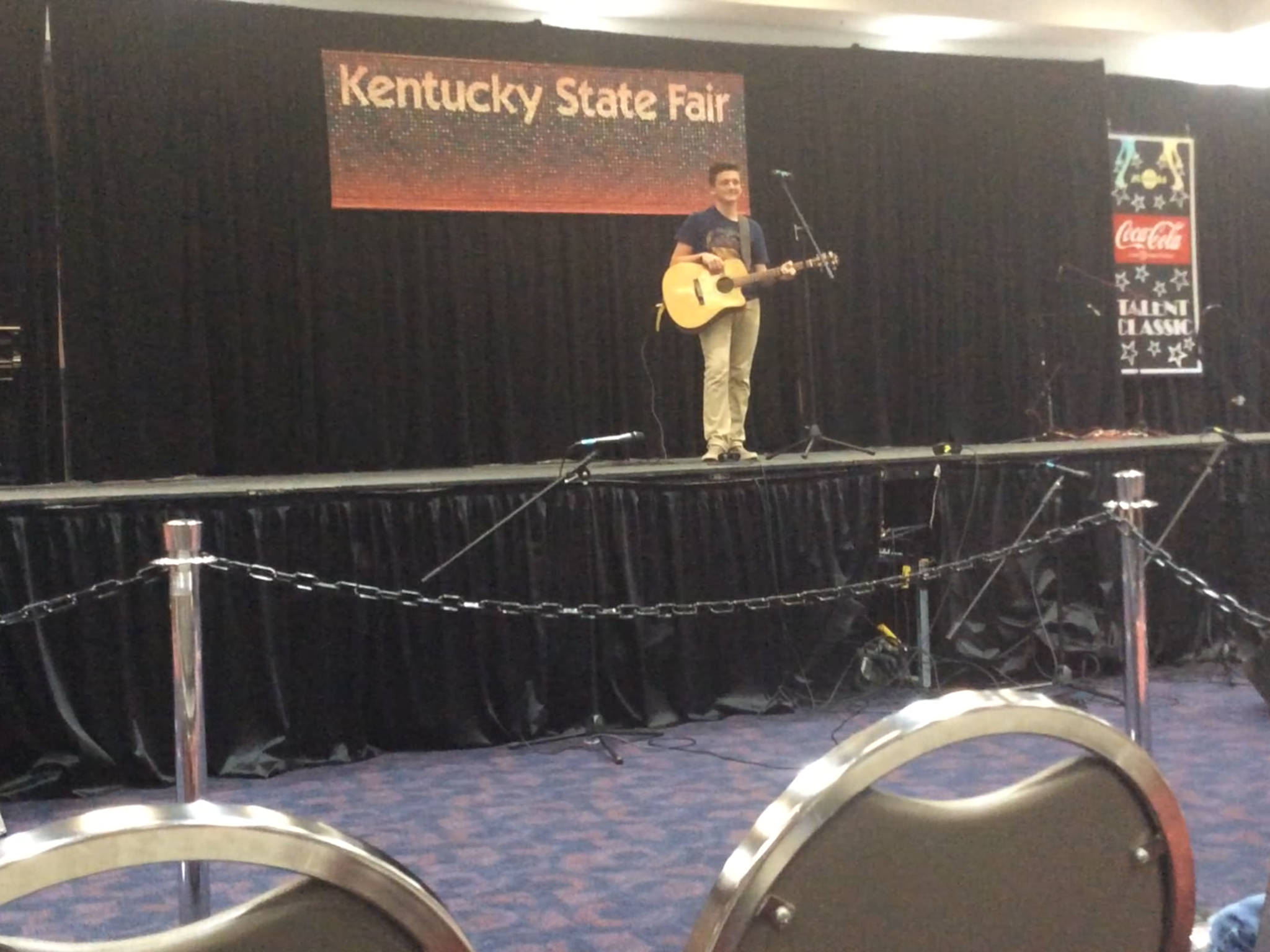 Jonathan at the Ky State Fair!