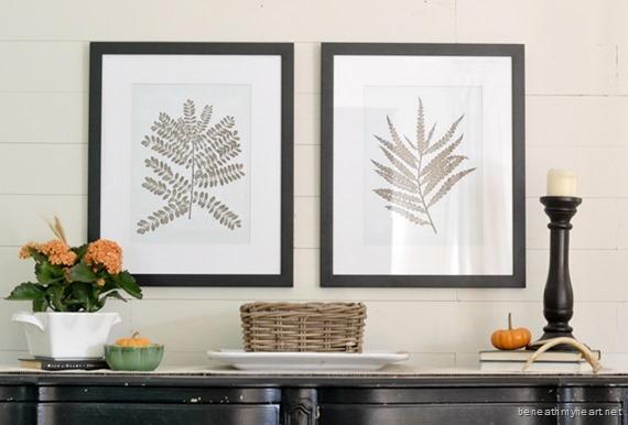 fern framed prints from Birch Lane