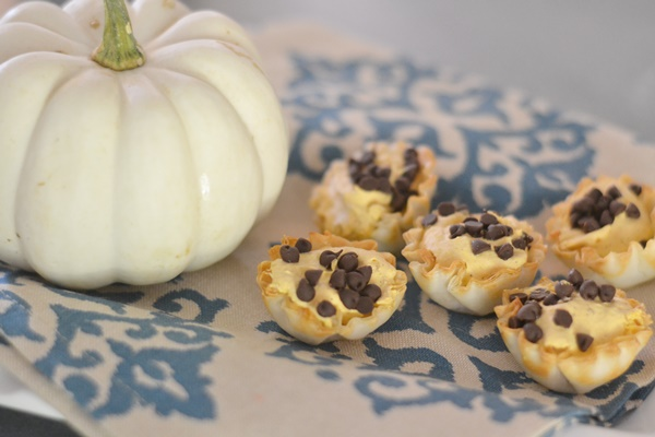 Pumpkin Bites with Cinnamon Bark Essential Oil