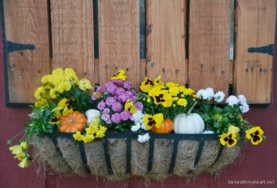 fall barn decor