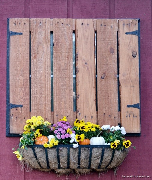 Fall Décor for our Barn