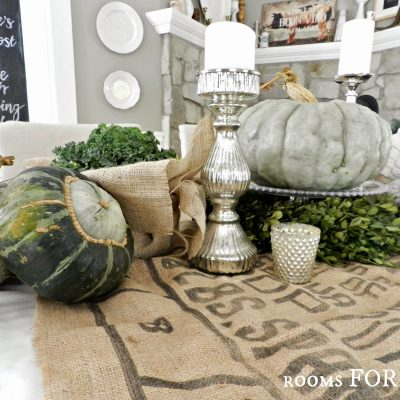 Thanksgiving (Fall) Tablescape