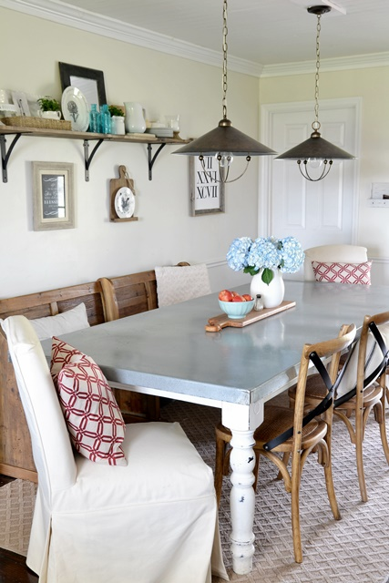 dining area makeover