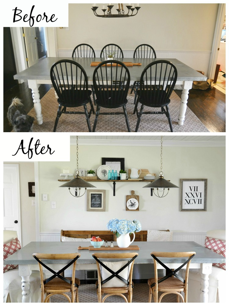 dining area makeover dining area makeover reveal   beneath my heart  rh   beneathmyheart net