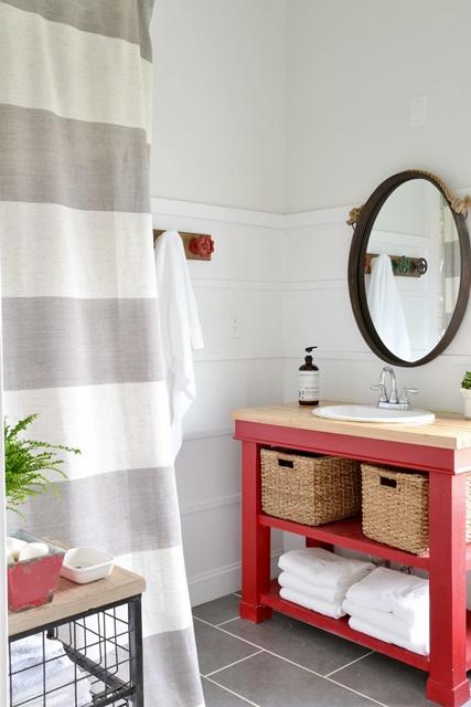 Diy Shower Curtain For Boys Bathroom Beneath My Heart
