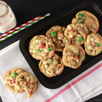 Holiday Cadbury Chip Cookies