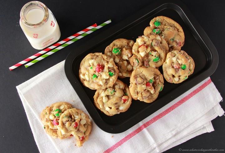 Holiday Cadbury Chip Cookies