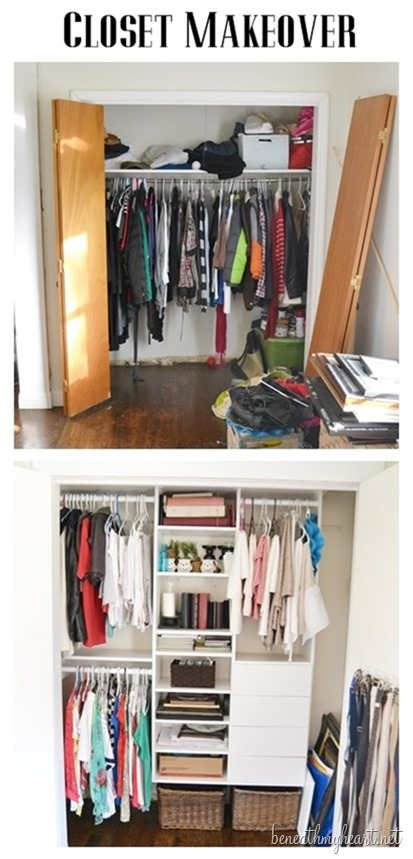 Charmant Look At My Closet Before. It Was A Sad Situation. You Can Read About How I  Organized It HERE.