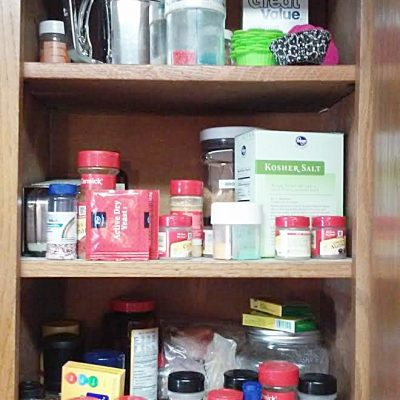 Reader Kitchen Organization