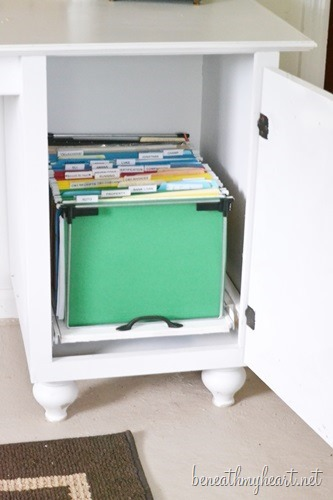 diy file cabinet