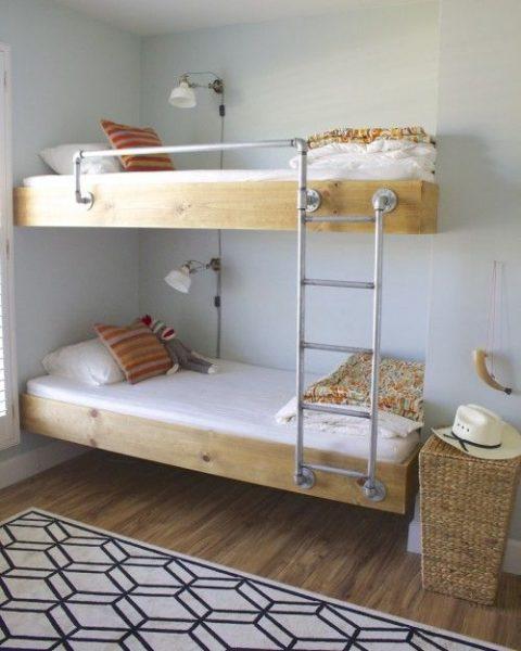 Built In Bunk Beds Beneath