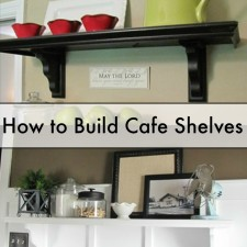 cafe shelves