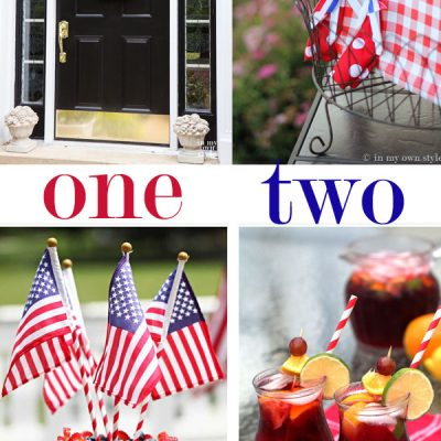 Celebrating the 4th!  {In My Own Style}