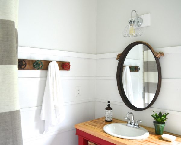 New Lights For The Boys' Bathroom! {Giveaway!!!}