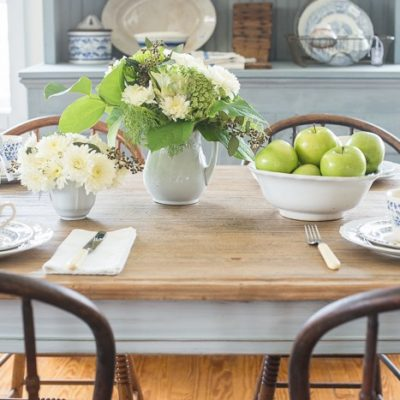 Farm Table Makeover {Miss Mustard Seed}