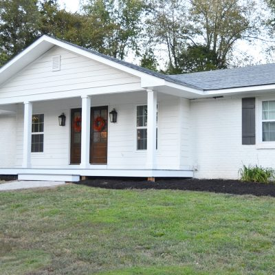 Adding a Front Porch to a Brick Ranch