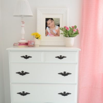 Dresser Makeover {for our girl's room}