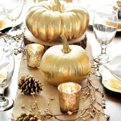DIY Ideas to Add a Touch of Gold to Your Thanksgiving Decor