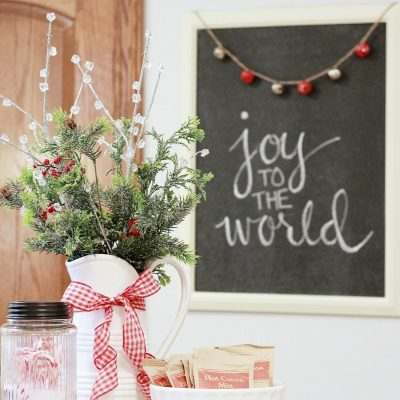 Reader's Christmas Home Tour – Day One