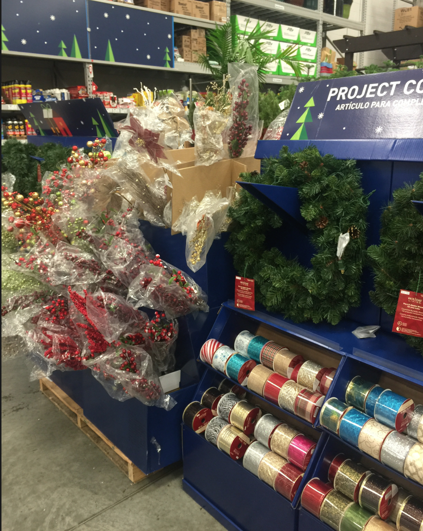 Lowe's Christmas decorations
