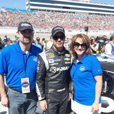 The Day I Felt Famous {Nascar Fans Must Read!}