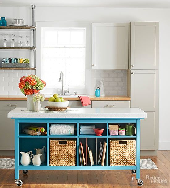 DIY Island Ideas for Small Kitchens!