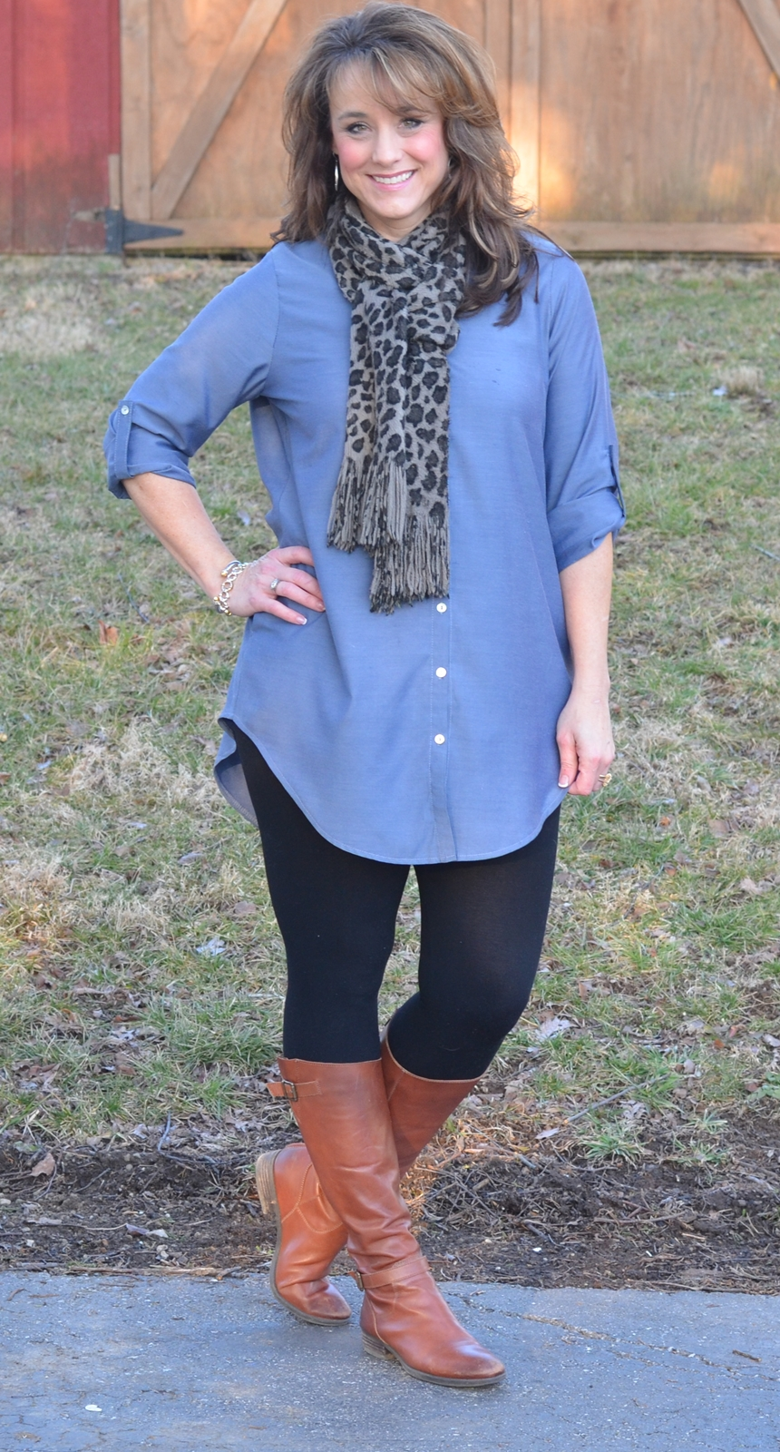 Fashion Friday! {Denim Tunic}