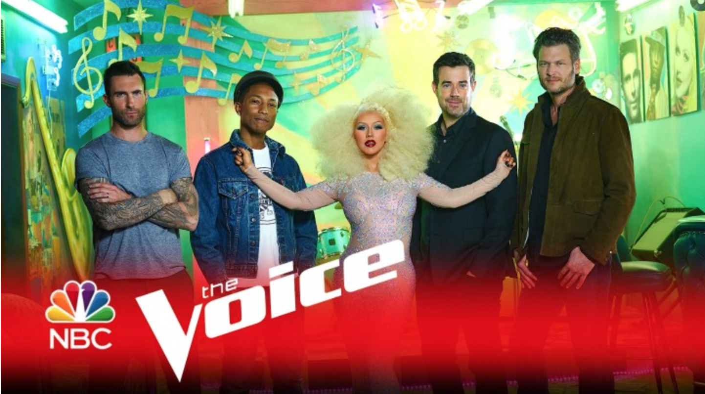 Big Announcement!!!  Jonathan and THE VOICE!