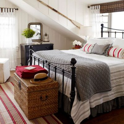 """Shop this Space"" – Cottage Bedroom"