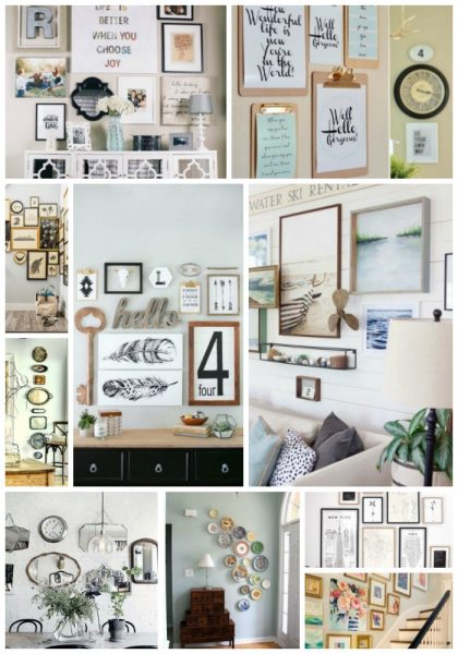 Best Gallery Walls of Pinterest