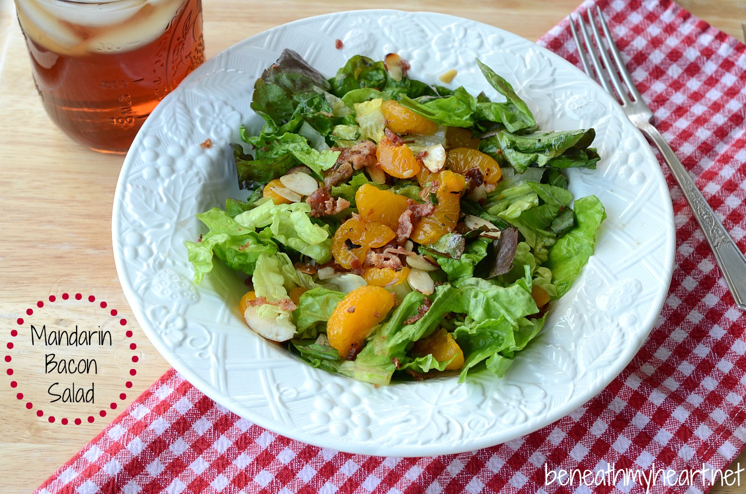mandarin bacon salad