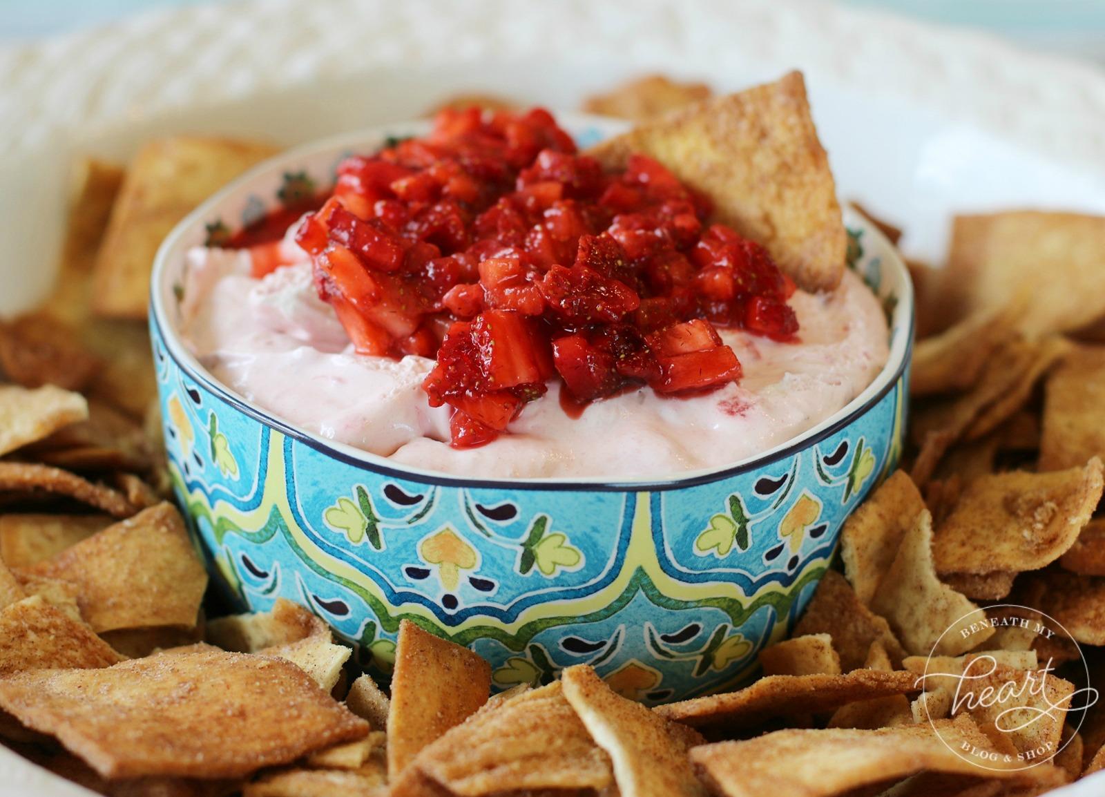 Strawberry Cream Cheese Dip