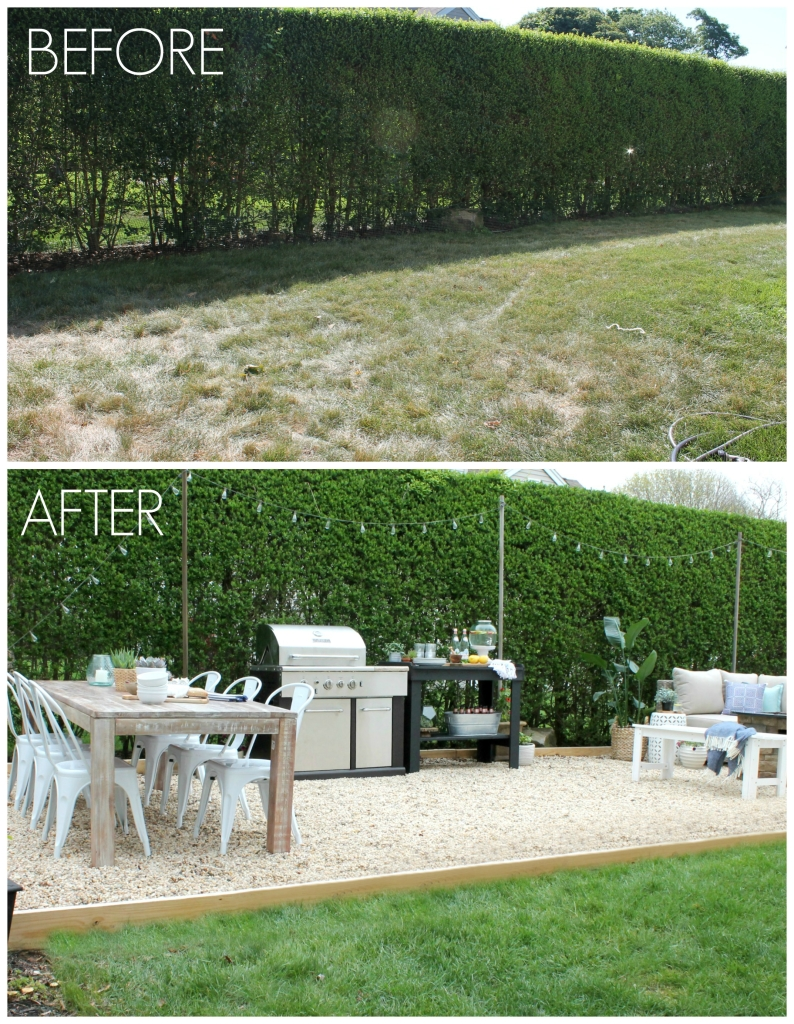 10 Beautiful Outdoor Makeovers {and sweet words from our ... on Outdoor Patio Makeover id=93654