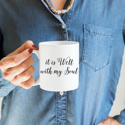 """It is Well with my Soul"" in the shop NOW!"