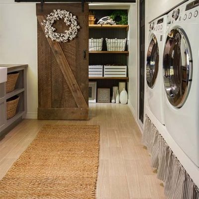 Favorite Laundry Rooms on Pinterest {and still undecided}