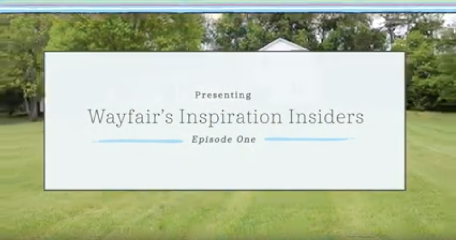 Come check out my Intro Video with Wayfair!