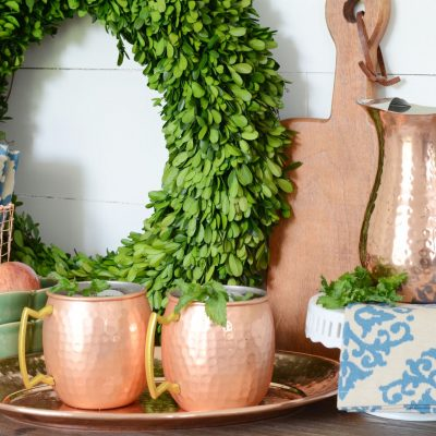 Trend Spotting with Wayfair:  Copper and Greenery!