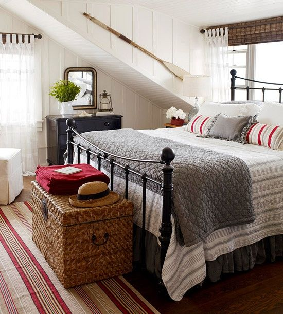 Get the Look:  Farmhouse Bedroom