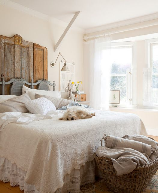 Farmhouse bedroom 26Get the Look  Farmhouse Bedroom   Beneath My Heart. Farmhouse Bedroom. Home Design Ideas