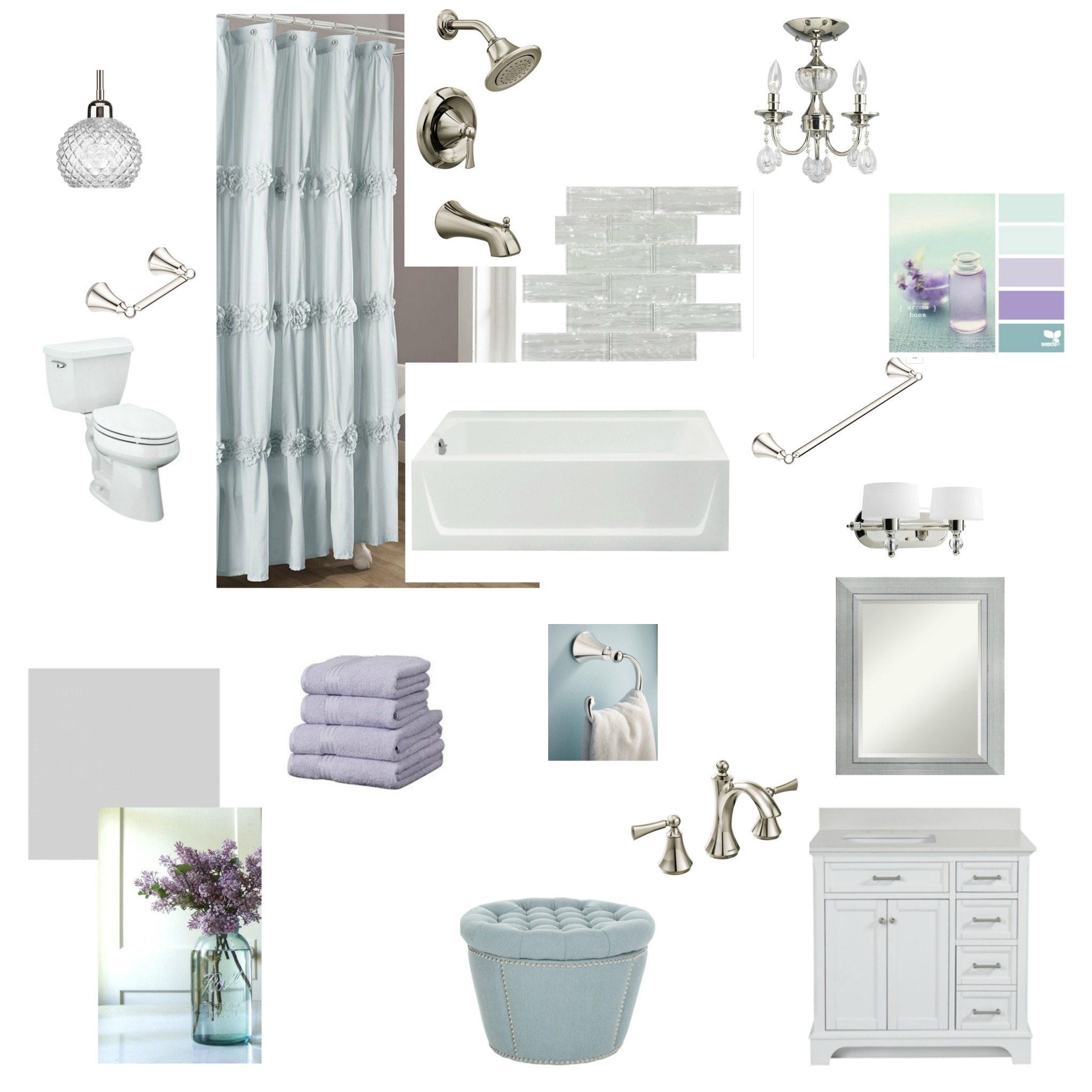Lowe's Fall Makeover Mood Board