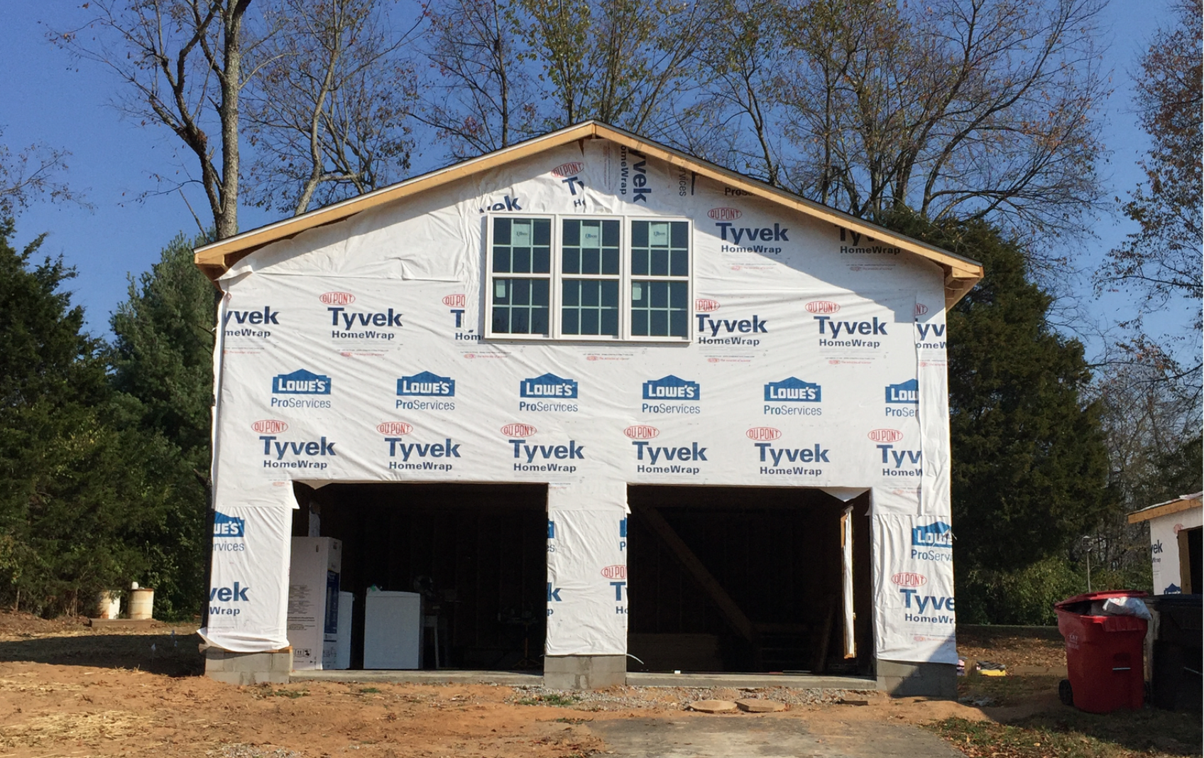 Progress on our Garage & Laundry Room