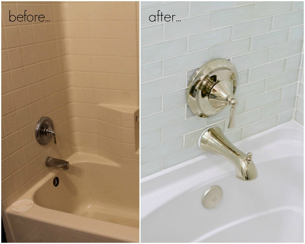 Lowes Bathroom Makeover Reveal Beneath My Heart - Bathroom tub makeover