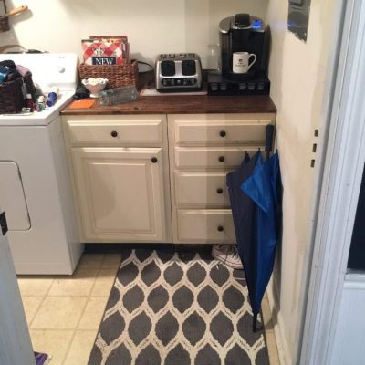 Laundry Room Update!  {And Essential Oils Webinar Sign-up!}