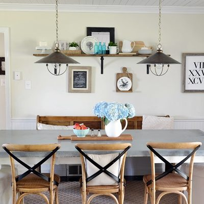 Get the Look:  Modern Farmhouse Kitchen