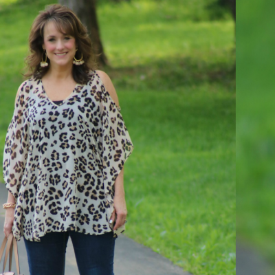 Fashion Friday:  Cold Shoulder Tunic